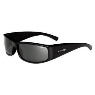 Arnette Full House Xl Rectangular Sunglasses,Translucent Red Frame/Grey Lens,one size Clothing