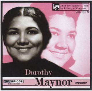Dorothy Maynor in Concert at Library of Congress: Music