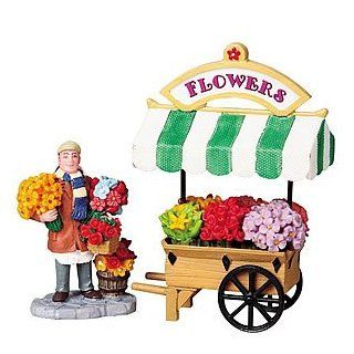 Carole Towne Flower Cart with Vendor: Home Improvement