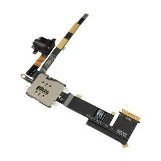 Headphone Audio Jack Port w/ Ribbon Flex Cable for iPad Headphone Jack Flex Computers & Accessories
