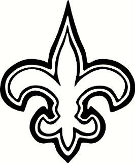New Orleans Saints Logo (Car Tattoo Vinyl Sticker) WHT: Everything Else