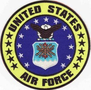 United States Air Force USAF Embroidered Biker Patch!!!: Everything Else