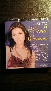 JUICY HONEY (SPECIAL EDITION) MARIA OZAWA COLLECTION CARDS 2007: Toys & Games