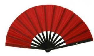 Red Performance Folding Fan, #361 Clothing