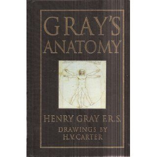 Gray's Anatomy   15th Edition (Hardcover Leatherbound with Gold Leaf Edges) Henry Gray F. R. S., H. V. Carter Books
