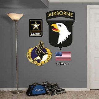 (27x38) US Army 101st Airborne Logo Wall Decal Sticker   Prints