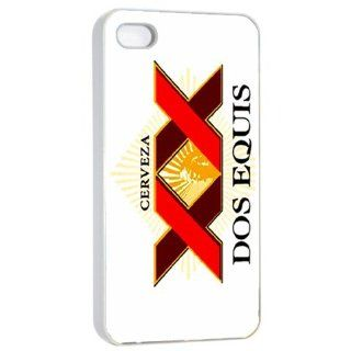 Dos Equis Mexican Beer Logo Case for Iphone 4/4s White: Cell Phones & Accessories