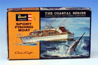 Revell 156 H 387100 Sport Fishing Boat New in Sealed Box Toys & Games