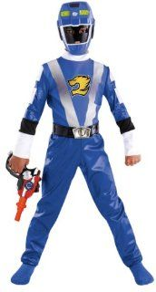 Blue Power Ranger Costume: Toys & Games