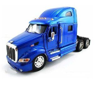 Jada Toys RoadRigz   Peterbilt 387 Model Tractor Trailer (1:32, Black) diecast car toy: Toys & Games