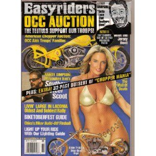 EASYRIDERS MAGAZINE   OCTOBER 2005   ISSUE # 388: EASYRIDERS MAGAZINE: Books