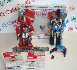 Transformers Cybertron Robots in Disguise Ultra Magnus & Optimus Prime 2pack Combine to Make Omega Prime: Toys & Games