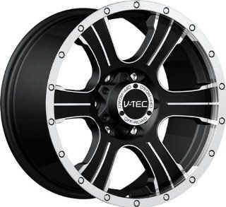 VISION WHEEL   396 assassin   17 Inch Rim x 8.5   (6x5.5) Offset (25) Wheel Finish   matte black machined face: Automotive
