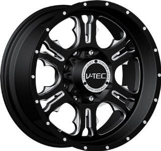 VISION WHEEL   397 rage   20 Inch Rim x 9   (6x135) Offset (12) Wheel Finish   gloss black milled spoke: Automotive