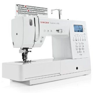 Singer (L500) L 500 Quantum Premium Computerized Long Arm Sewing Machine with 401 Built in Stitches and Integrated Dual Feed System