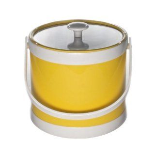 Mr. Ice Bucket 402 1 Springtime 3 Quart Ice Bucket, Yellow Kitchen & Dining