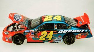 Action   NASCAR   Jeff Gordon #24   2005 Chevrolet Monte Carlo   DuPont Racing Paint   COA   Dayton Raced Win Version   124 Scale Die Cast Stock Car   1 of 3504   Color Chrome Paint Very Rare   Limited Edition   Collectible Toys & Games
