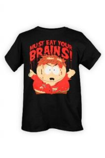 South Park Cartman Must Eat Your Brains T Shirt Size  Large Clothing