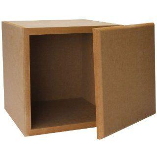 Knock Down MDF 0.67 cu. ft. Subwoofer Speaker Cabinet Electronics