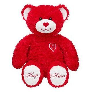 Build A Bear Workshop 15 in. Sweet Hugs & Kisses Teddy Plush Stuffed Animal: Toys & Games