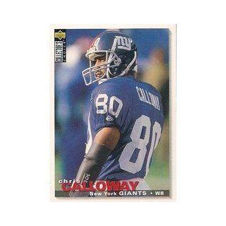 1995 Collector's Choice #95 Chris Calloway: Sports Collectibles