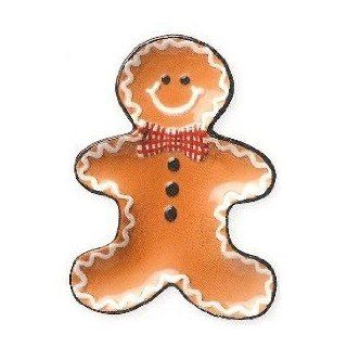 Holiday GINGERBREAD man SPOON REST spoonrest holder: Kitchen & Dining