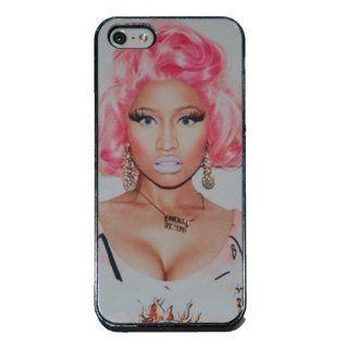 Nicki Minaj Pink Hair Apple iPhone 5 Black Plastic Case US Seller (30): Everything Else