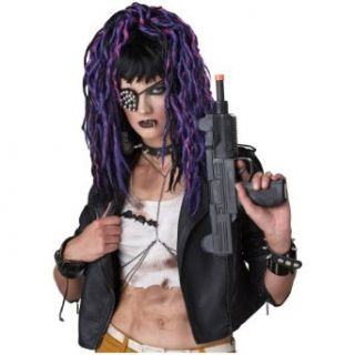 Apocalypse Purple Steampunk Dreadlocks Womens Halloween Costume Accessory Wig Clothing