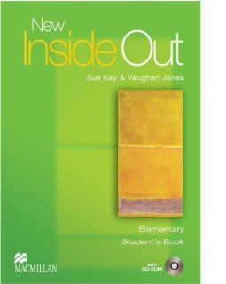 New Inside Out: Elementary: Student's Book with CD ROM Pack: Sue Kay, Vaughan Jones: 9781405099493: Books
