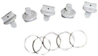 Fasteners Unlimited 46123 Twist to Lock Awning Accessory Hanger and Stop Automotive