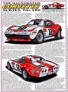 Illustrated Corvette Series 188   The Owens Corning 1968 427 L88 Corvette Race Car: Arts, Crafts & Sewing