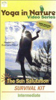 Yoga in Nature Series: The Sun Salutation Survival Kit   Intermediate [VHS]: Evamarie Pilipuf: Movies & TV