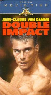 Double Impact [VHS]: Jean Claude Van Damme, Geoffrey Lewis, Alonna Shaw, Corinna Everson, Philip Chan, Alan Scarfe, Bolo Yeung, Andy Armstrong, Wu Fong Lung, Peter Malota, Sarah Jane Varley, Kamel Krifa, Sheldon Lettich, Ashok Amritraj, Charles Layton, Cha