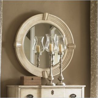 Lexington Twilight Bay Weston Mirror in Antique Linen   01 0351 201
