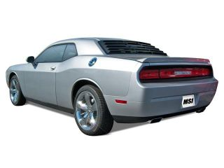 Mach Speed 23010 Dodge Challenger Coupe ABS Rear Window Louver   2008 2012