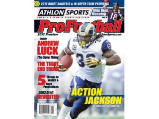 2012 Athlon Sports NFL Pro Football Magazine Preview  St. Louis Rams Cover