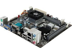 ECS NM70 I2(1.0) Intel Celeron 1037U 1.80GHz Intel NM70 Mini ITX Motherboard/CPU/VGA Combo