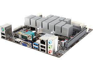 ECS KBN I/2100 AMD E1 2100 Dual Core processor Mini ITX Motherboard/CPU/VGA Combo