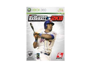 Major League Baseball 2k8 Xbox 360 Game 2K SPORTS