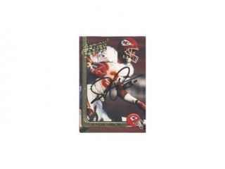 Stephone Paige, Kansas City Chiefs, 1991 Action Packed Hi Pro Autographed Card