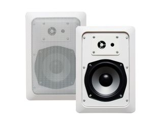 "Acoustic Audio CS IW520 Pair 200W 5.25"" 2 Way In Wall/Ceiling Surround Speakers"
