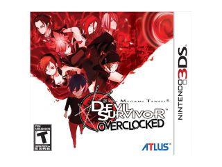Shin Megami Tensei: Devil Survivor Overclocked 3DS Nintendo 3DS Game ATLUS
