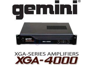 GEMINI XGA 4000 4000W PRO POWER AMPLIFIER