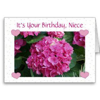 Birthday, Niece Cards