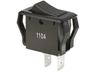 Ideal 774039 Appliance Rocker Switch,Red Lighted,Single Pole Single Throw,On Off, Spade Termination