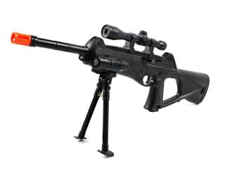 Mini Unseen 188 Spring Airsoft Gun Sniper FPS 250 w/ Bi Pod