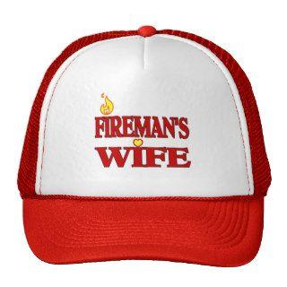 Fireman's Wife Trucker Hat