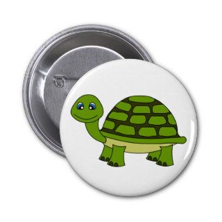 Cute Turtle Cartoon Pin