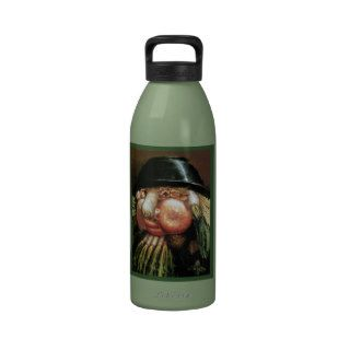 The Green Grocer   Giuseppe Arcimboldo Reusable Water Bottle