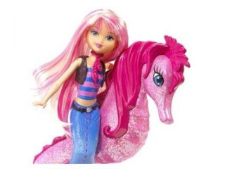 Barbie In A Mermaid Tale Seahorse Stylist Doll   Pink
